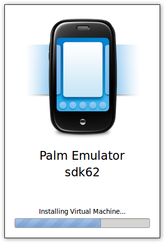 Palm SDK booting